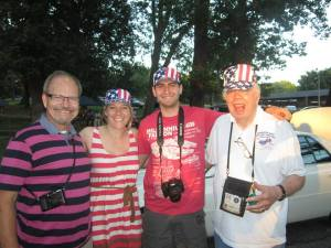 The 4th of July event was enjoyed by both AFRH residents and visitors alike.