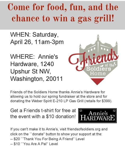 Friends Fundraiser Flyer