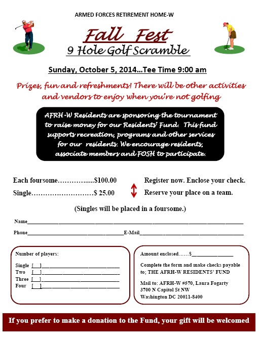 Fall fest community golf