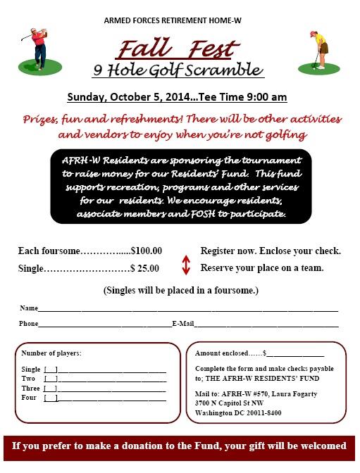 Fall fest community golf