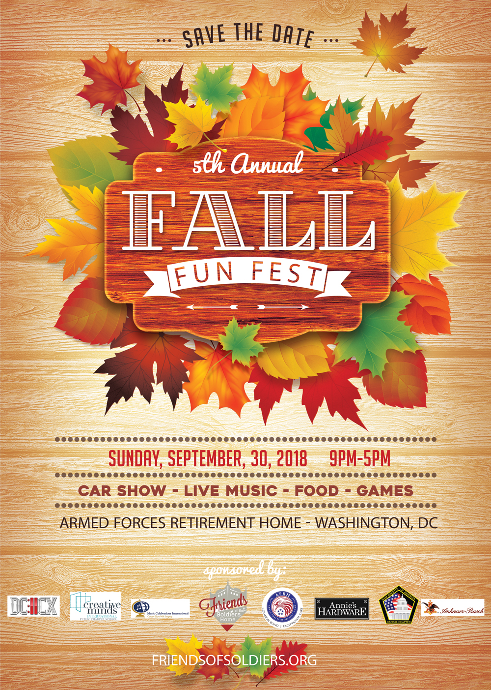 fall fun fest is september 30th friends of the soldiers home. Black Bedroom Furniture Sets. Home Design Ideas